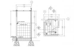 Toilet Design Drawings With Working Autocad Free Download