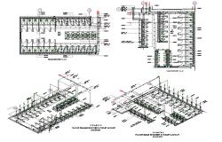 Toilet Plan With Isometric View AutoCAD Drawing