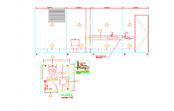 Toilet block floor plans & Elevation design
