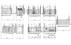 Toilet elevation Design CAD File