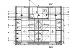Toilet plan detail dwg file