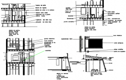 Toilet section plan detail dwg file