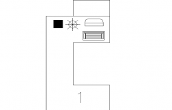 Top view layout plan