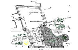 Top view layout plan and Installation layout plan