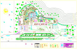 Tourist place design of hotel