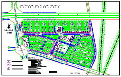 Township design drawing of People's government housing the main floor plan design drawing