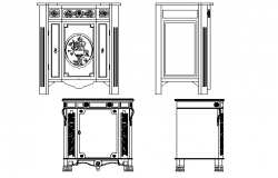 Traditional cupboard design