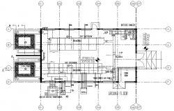 Transformer room design CAD drawing