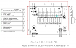 Transmit board plan dwg file