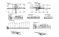 Transverse irrigation matrix cad construction and plumbing details dwg file