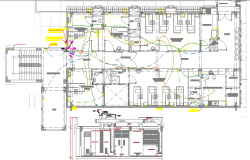 Treatment Pavilion Electric Installation dwg file