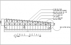 Truss detail dwg file