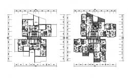 Two storey House CAD Plan