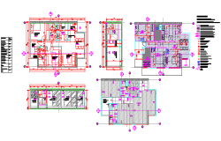 Typical Apartments plan and sectional elevation Detail Bb