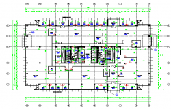 Typical Floor Plan In Autocad File