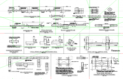 Typical Slab Wall detail dwg file