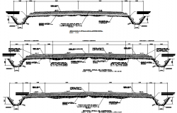 Typical section of highway phalt detail dwg file