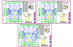Unit electrical Diagram Lay-out plan detail