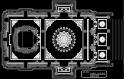Temple floor design