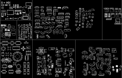 Furniture blocks design