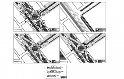 Urban intervention section plan