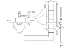 Urinal CAD Block Free Download
