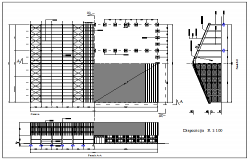 Utilitarian building design drawing