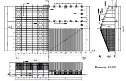 Utilitarian multi-purpose corporate building dwg file