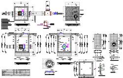 Valve chamber detail dwg file