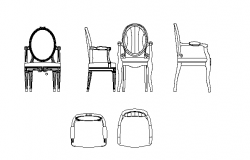 Various type of chairs design