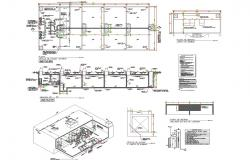 Various type of housing architecture detail and drawing