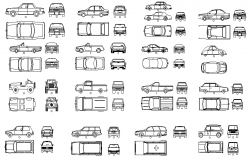 Vehicle Cad Blocks