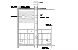 Ventilation bathroom plan detail dwg.,