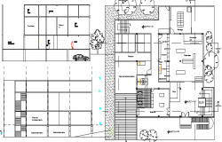Veterinary Clinic Architecture Project dwg file