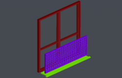 View design for balcony door