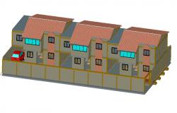 Villa 3d details