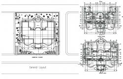 Villa Floor Plan AutoCAD File