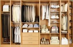 WARDROBE STORAGE DESIGN