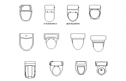 WC designs and its types