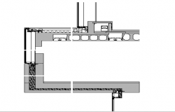 Joint Wall construction Plan Detail dwg file