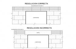 Wall Elevation With Opening Detail Drawing Free File