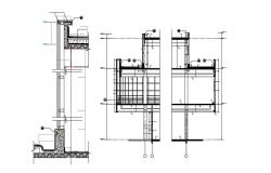 Wall Section Design CAD File Download