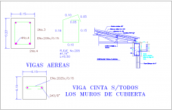 Wall constructional sectional view for housing and office combine area dwg file