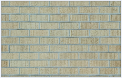 Wall of bricks colored textured
