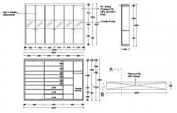 Wardrobe Design DWG File