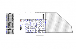Ware House  Lay-out design