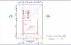 Washing area view with WC plan for industrial plant dwg file