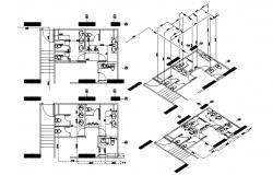 Washroom Layout Plan