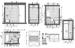 Washroom Plan Download