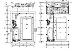 Water Park Design Layout Plan CAD File